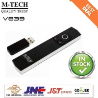 Wireless Presenter Laser Pointer With Mouse Function M-Tech V839