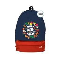 Tas Backpack Anak Muslim AfraKids - anak PG & TK (FB 005 - 008)
