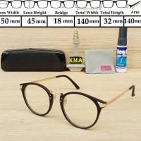Jual Frame kacamata lensa minus Rayba* vintage kacamata bulat classic Murah