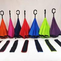 Jual Payung Terbalik Reverse Kazbrella Gagang C 2ND Generatio ( SARUNG ) Murah