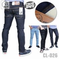 Jual Celana Jeans Slimfit Cheap Monday Biru Dongker Murah