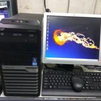 sale paketan komputer branded acer veriton,corei3-lcd HP 17