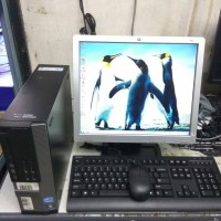 packets komputer branded dell,core i5,lcd 17