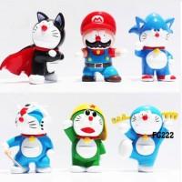 FG222 Doraemon kostum Heroes Super Mario Bros Action Figure Set 6 pc