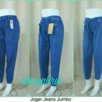 celana jogger jeans dewasa wanita