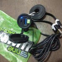 Jual Charger HP Untuk Di Motor Anti Air Waterproof Luminos Casan HP Motor Murah