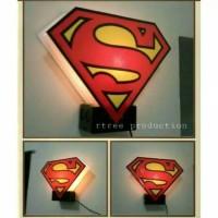 Jual Lampu Hias/Tidur Fiber Superman Murah