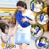 BABY LEON GENDONGAN BAYI KAOS/SELENDANG BAYI PRAKTIS BY 44 GB