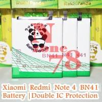 Baterai Xiaomi Redmi Note 4 BN41 BN-41 Double IC Protection