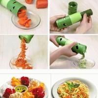 Jual Pemotong Sayuran Spiral Slicer Power Veggie Twister Rotary Cutter  Murah