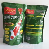 Makanan Ikan Koi Hokky Color Enhancer / Spirulina Size Small / S 1 Kg