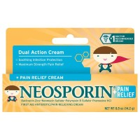 Neosporin + Pain Relief Dual Action Cream for Kid 0.5 Oz 14.2 gr Ready