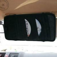 Tempat CD Sun Visor mobil Kartu CD DVD / Car Organizer Interior Holder