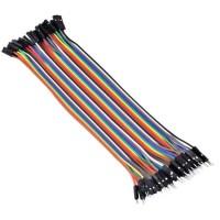 harga Kabel Jumper Arduino 20cm Male To Female 40pin 40p Pelangi Rainbow Tokopedia.com
