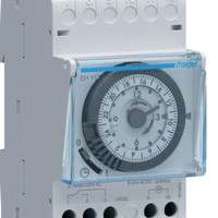 Timer switch analog HAGER EH 111 OTOMATIS TIMER HAGER