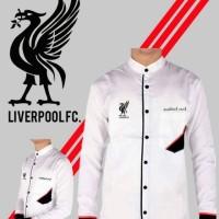 Jual Baju Koko Liverpool    KokoLfc    Koko Murah    koko Putih Panjan Murah
