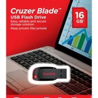 Jual FLASHDISK USB SANDISK CZ50 CRUZER BLADE 16 GB ORIGINAL Murah