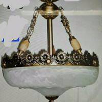 lampu gantung teras antik motif tradisional adat betawi unik bagus GAR
