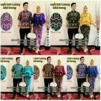 Jual Batik Couple / Kebaya / batik Sarimbit Lonceng Barong Murah