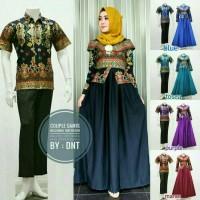 Jual Batik Couple / gamis / batik Sarimbit Bellvenia Balloteli Murah