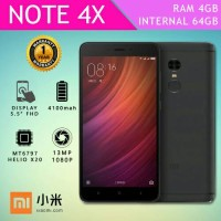 Xiaomi Redmi Note 4x Black 4/64gb Global Stable