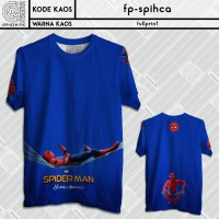 Kaos Film Marvel Spider-Man Homecoming Iron Man Fullprint Spiderman