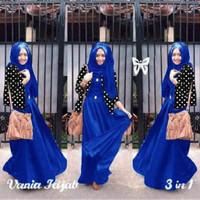 baju gamis muslim mita/pakaian wanita terbaru/maxi cewe modern hijab