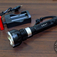 Senter Selam Diving Flashlight Cree LED Superbright Tactical Outdoor