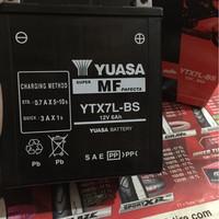 Accu / Aki motor YTX7L-BS yuasa kawasaki KLX dtracker Honda CBR suzuki