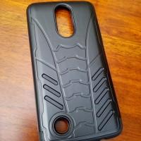 Bumper Armor Bat Shield Dual Layer Hard Case Cover Casing LG K8 2017