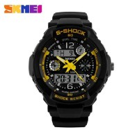 Jam tangan SKMEI AD 1060 original small size g-shock baby-g yellow