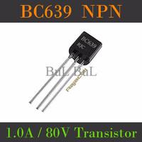 Transistor BC639 NPN 1A 80V Multifunction Power Transistor