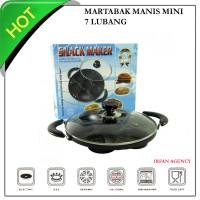 Jual cetakan kue martabak mini snack maker 7 lubang Murah