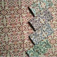 Batik Songket Kalimantan Timur BK93 Bahan KAtun Prima Halus
