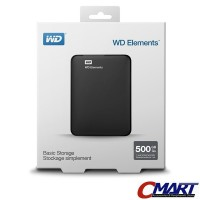 WD Elements 500GB HD HDD Hardisk Harddisk External Eksternal Element