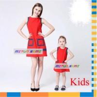 Jual Beli baju couple ibu dan anak perempuan 1 2 3 4 5 TAHUN AGD2840