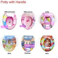 Jual Baby Potty Seat with Handle Training Potty Bayi Murah