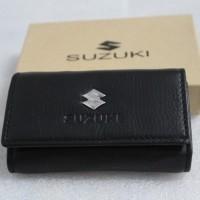 Dompet STNK - gantungan kunci mobil/motor SUZUKI (100% kulit asli)