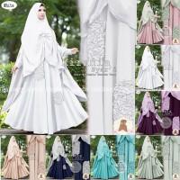 Kirania Eksklusif - Baju Gamis Set Syari - Maxi Dress Hijab Eksklusif