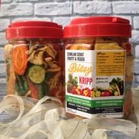Jual Keripik Sayur Organik (Bitsy Kripp) - Kemasan Large Murah
