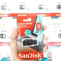 Jual FLASHDISK SANDISK 16GB / ORIGINAL / CRUZER BLADE CZ50 Murah