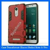 Jual Case Armor Xiaomi Redmi Note 3/Pro Standing Robot Transformer Hardcase Murah