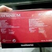 Reel Pancing Kuat Shimano Technium 4000fd. reel laut