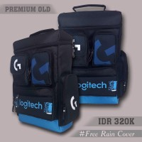 Backpack Premium OLD Logitech (Tas Gaming )