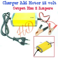 Charger Accu 12Volt/Charger Aki 12V