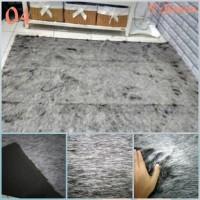 Jual Karpet Bulu Corak 04 (abu2 salju) Murah