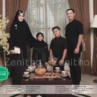 Promo Baju Koko Murah Bahan Katun ZENITHA ZNP 245 Hitam M