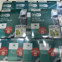Jual antivirus ESET NOD32 1 pc 1 year Murah