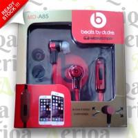 Handsfree - Earphone + Mic Beats by Dre MD-A85 - Monster - Headset