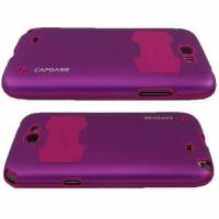 Jual Capdase Alumor Jacket Pearl Samsung Galaxy Note 2 - Purple Murah